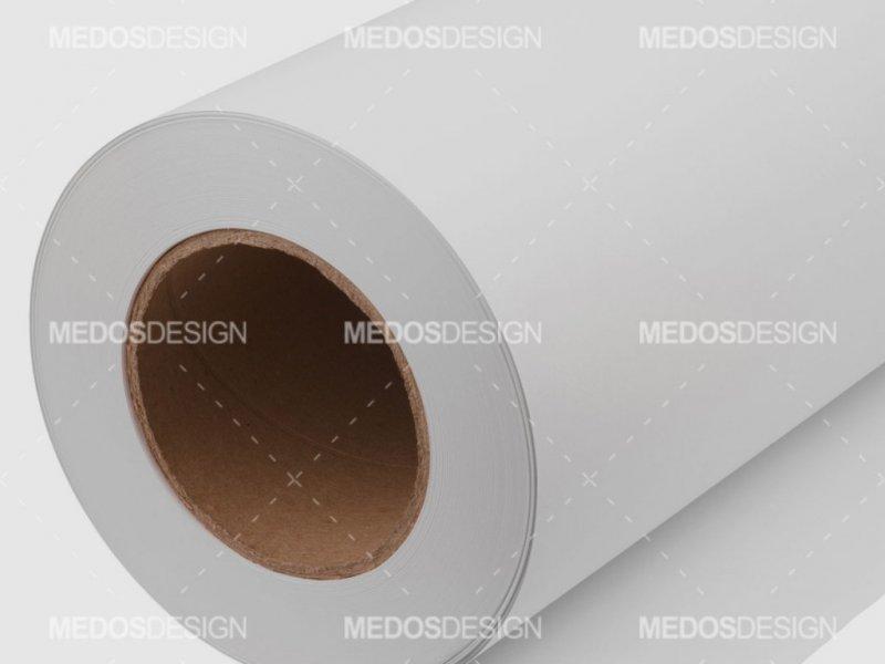 رول کاغذ سفید 50 سانتیمتری